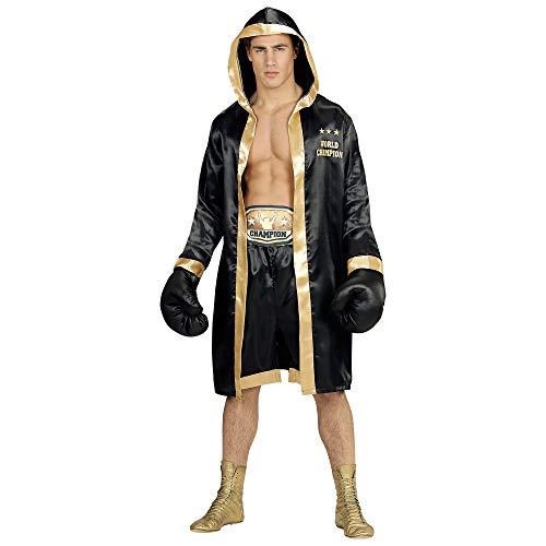 Widmann 11011292 Erwachsenen Kostüm Boxer World Champion, Mehrfarbig, M/L