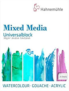 Hahnemuhle Universal Block Mixed Media Sketch Pad - 310 GSM - 24 * 32 (cm)