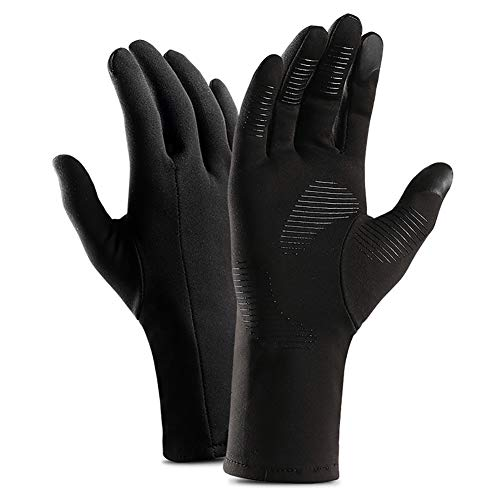 CAheadY 1 Paar Unisex Winter warm Winddicht Touchscreen Vollfingerhandschuhe S