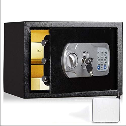 ZHEDYI Office Password Key Safe, Small Home 25cm Safe, Kan In De Muur en Sluiting, Alle Staal Anti-diefstal Brandwerende Kluis, Gebruikt om Juwelen, Cash en Waardevolle