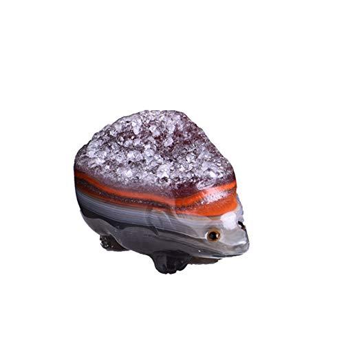 ZTTT 1 stück Natürlicher Kristall Achat Igelquartz Kristallerz Magische Kristall Achat Verfügbar Home Decoration