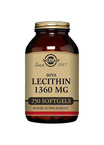 Solgar Soya Lecithin 1360 mg Softgels - Pack of 250