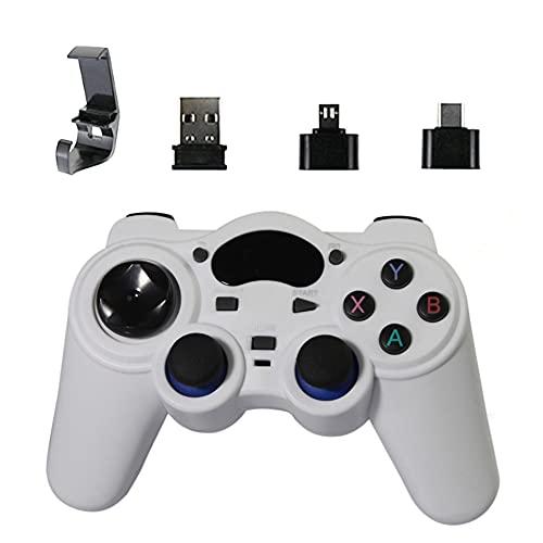 ADAGG Enshishidayanjiaoshangmaoyouxgongsi 2.4g Wireless Gaming Controller Android USB Joystick con Convertidor OTG