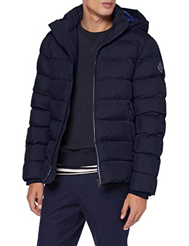 GANT Herren D1. The Active Cloud Jacket Jacke, Evening Blue, XL