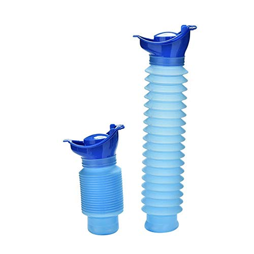 Afazfa 750ML Portable Adult Urinal Camping Travel Car Urination Pee Toilet Urine Help Blue