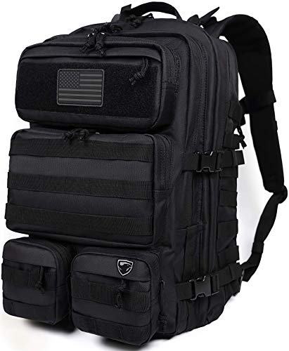 Military Backpack | Military Tactical Backpack For Men | Bug Out Bag | Hydration Ready 40L Heavy...