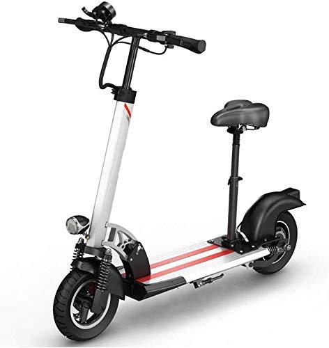 GJJSZ Bicicleta eléctrica,48V 500W Batería de Viaje Plegable portátil Coche Mini Adulto Plegable Bicicleta de Coche eléctrico Bicicleta Plegable Ultraligera de la Ciudad