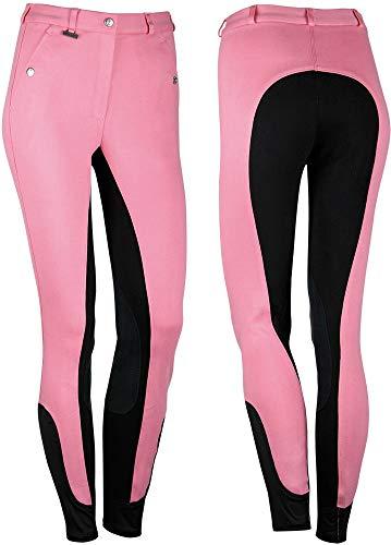 Harry´s Horse Reithose Beijing II Kniebesatz, Größe:D36, Farbe:rosa-anthrazit