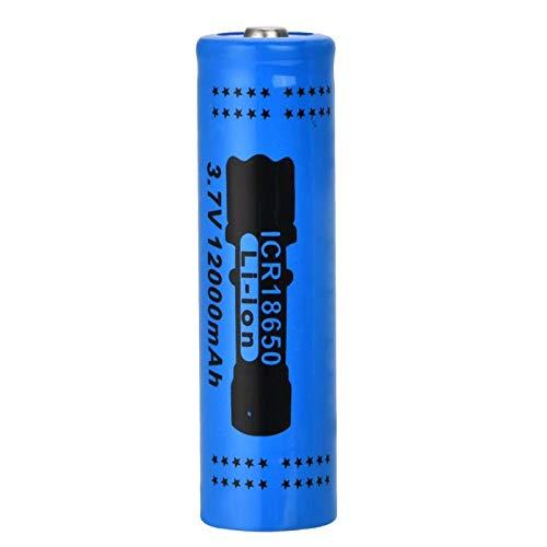 softpoint Batería Recargable De Iones De Litio 18650, Batería Recargable De Iones De Litio De 3,7 v 12000 Mah para Afeitadora Luz Led Control Remoto De Powerbank 2PCS