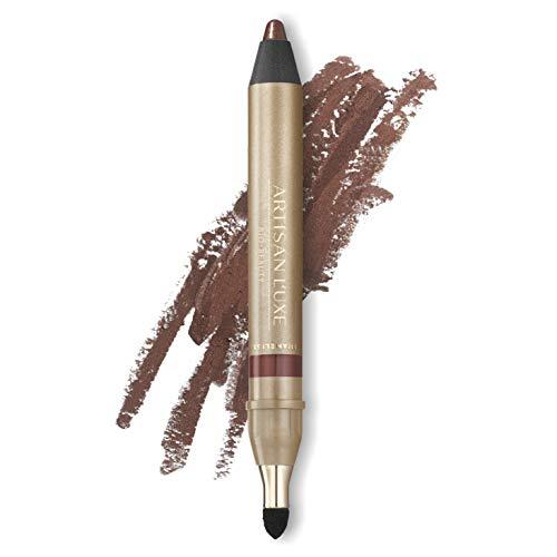 Artisan L'uxe Beauty Velvet Jumbo Eyeliner Pencil - Smokey Eyes in 3 Minutes - Water-Resistant, Smudge-Proof, Long-Lasting - Age-Defying Essential Oils - Shameless (Shade: Shimmering Bronze)