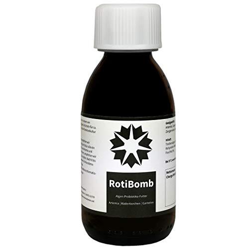 RotiBomb - Futter für Artemia Wasserflöhe Feenkrebse Rädertierchen (50 g)