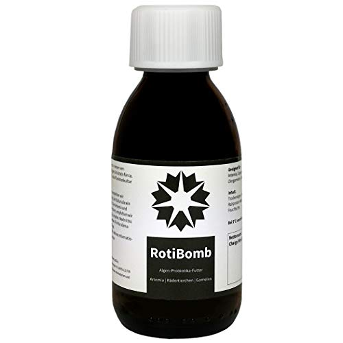 algova RotiBomb - Futter für Artemia Wasserflöhe Feenkrebse Rädertierchen (50 g)