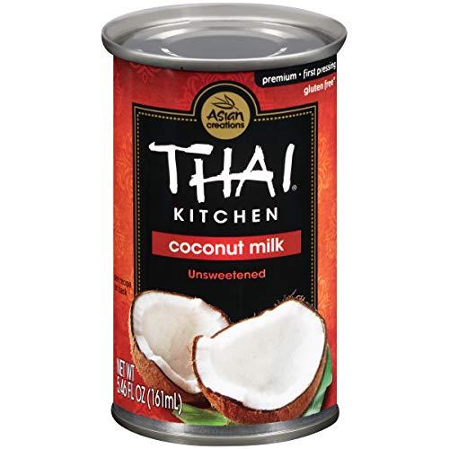 Thai Kitchen Gluten Free Unsweetened Coconut Milk, 5.46 fl oz - Pack of 24