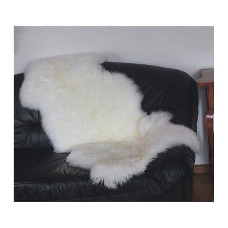 Heitmann Australische Lammfelle Naturweiß Waschbar Haarlänge Ca 70 Mm Ca 120x78 Cm Auto