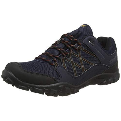 418XM6eeXBL. SS500  - Regatta Men's Edgepoint Iii' Waterproof Walking Shoes Low Rise Hiking Boots