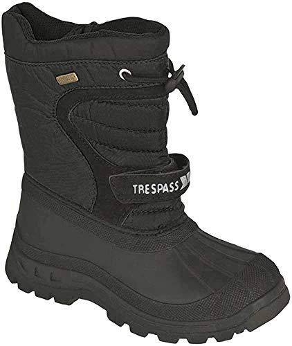 Trespass Dodo Unisex-Erwachsene Stiefel, Schwarz, 32 EU / 13 UK