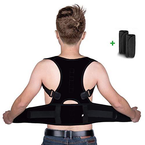 isermeo Corrector de Postura Espalda Recta, Correctores Postural Lumbar Hombro Soporte, Corregir Postura Sentado Enderezar para Mujer e Adolescentes, Posture Corrector Mejora la Joroba, M