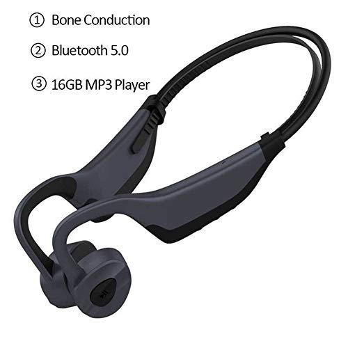 KAIXIN Schwimmen Kopfhörer, dicht MP3-Player Schwimmen IPX8 wasserdicht / 16G Speicher / Bluetooth5.0 for Laufen/Radfahren/Training/Tauchen Wasser