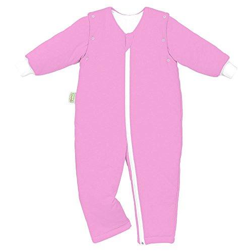 Odenwälder 1308-270 Jersey-Schlafoverall Hopsi 98/104, Farbe:light pink