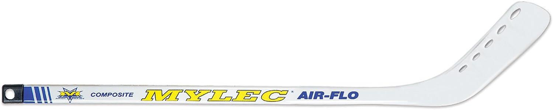 Mylec Mini Composite Hockey Stick, White Yellow Black, Small, Right Hand
