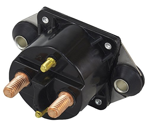 Rareelectrical New Starter Solenoid Compatible With Force Marine 40 50 75 90 120 96-99 Magneto Ignition By Part Numbers 89-817109A1 89-817109A2 89-817109A3 18-5834