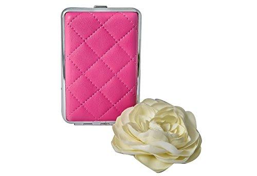 ReNa-Retail Elegantes Damen ZIGARETTENETUI (Pink - klein)