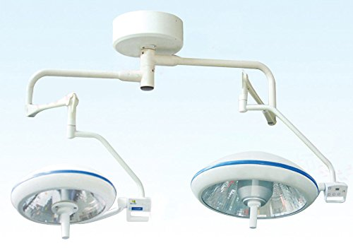 Great Deal! Super Dental D500/500 Double Headed LED Celling Shadowless Light