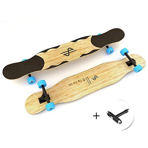 Dance Longboard, HB Boards Step, Professioneles Bamboo Freestyle und Dancing Longboard 46
