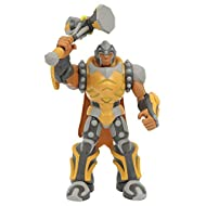 Includes weapon accessory Approx. 25cm tall Complete with articulation and attack function Character code to use with Gormiti App Perfect replica of the characters from Gormiti animated TV series