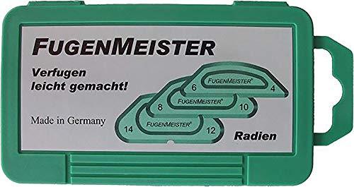 Fugenmeister Radien