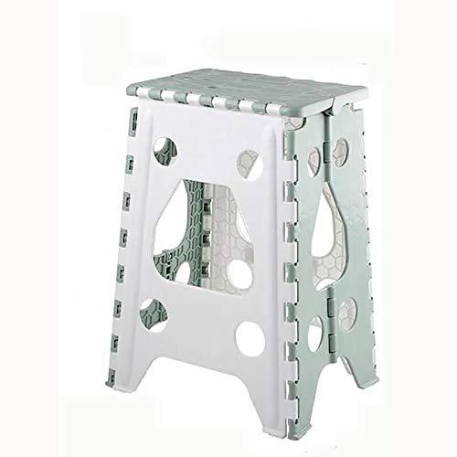 Taburete de asiento Mesa de comedor Taburete plegable Taburete de plástico grueso y duradero Taburete de comedor para adultos que ahorra espacio en el hogar Taburete alto para dormitorio de estudian