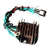 QWERQF Regulador de Voltaje Rectificador del regulador de Encendido de la Motocicleta,para Yamaha 3 Cyl 3.228 Bore 75 1998-2000