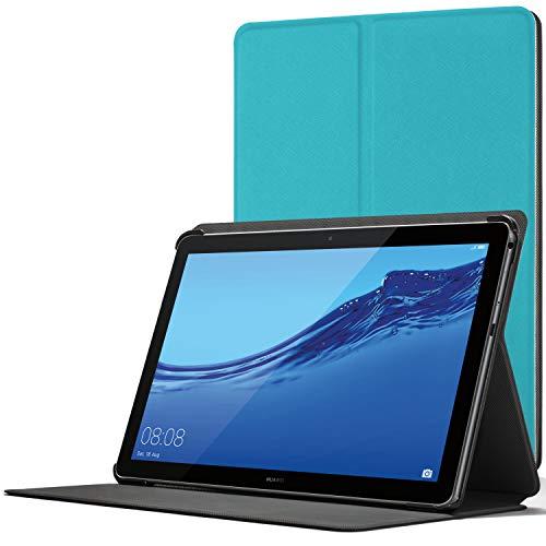 Forefront Hülles Hülle für Huawei Mediapad T5 10, Magnetische Schutzülle Hülle Cover und Ständer für Huawei MediaPad T5 10 10.1 Zoll 2018, Himmelblau