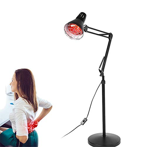 Great Features Of HWZZ Infrared Heating TDP Floor Lamp, Used for Periarthritis Pain Relief Beauty Tr...