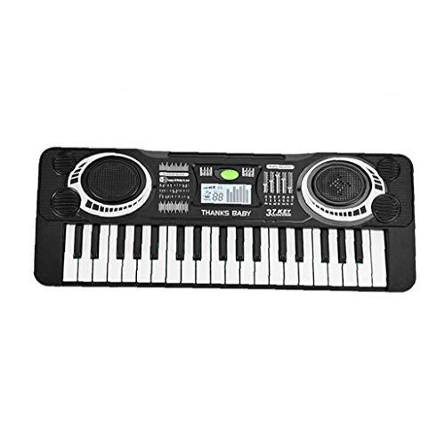 ZYCX123 Digital Music Teclado 37 Teclas del Teclado del Instrumento Musical Blanca órgano electrónico Negro de niños de los niños Recuerdos