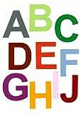 voigt24shop Buchstaben aus Filz 10 cm, selbstklebend (115
