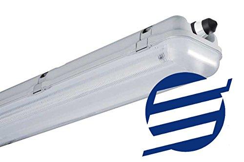 Regduo - Regleta de tubo LED T8 doble estanca 1500 mm