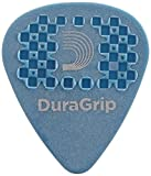 D'Addario. Púas para guitarra DuraGrip, medio/grueso, pack de 10