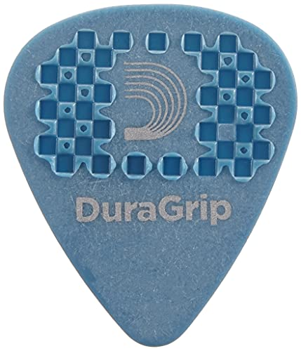 D'Addario DuraGrip Guitar Picks, 10pk, Medium/Heavy