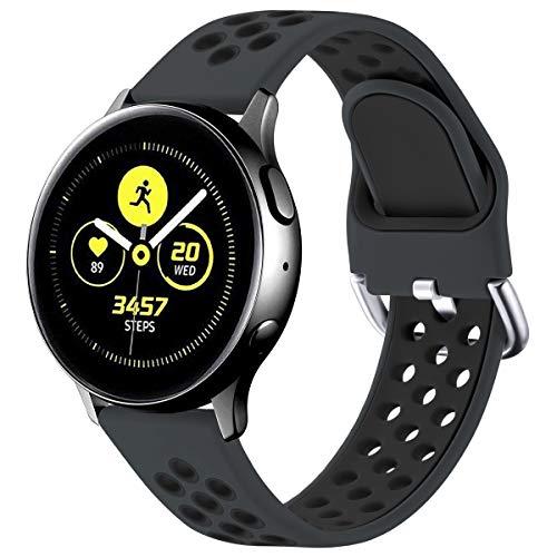 mächtig der welt Vobafe Armband kompatibel mit Samsung Galaxy Watch Active / Active 2 Armband (40 mm / 44 mm), weich…