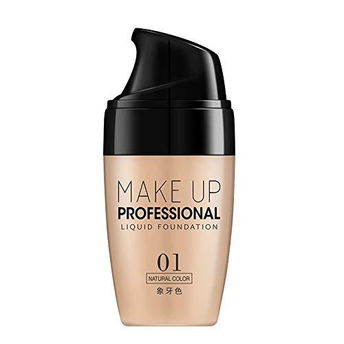 ZUZU Crème Base Crème Visage Correcteur Longue Durée Liquide Air Base Coussin Sun Block Maquillage,01