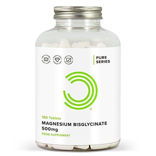 BULK POWDERS Magnesium Bisglycinat Tabletten, 500 mg, 180 Tabletten