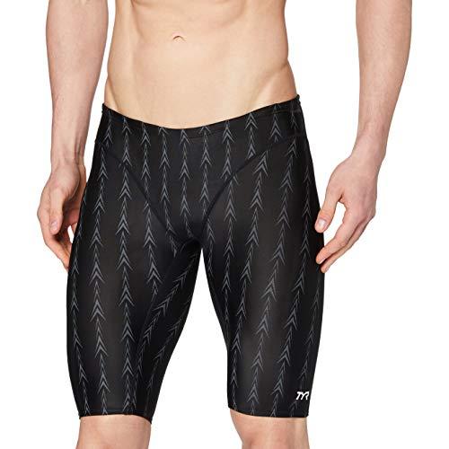 TYR Swimsuit Fusion Maillot de Bain 1 pièce pour Homme, Homme Fille, SFUS6A 001, Noir - Noir, 15 años (164 cm)