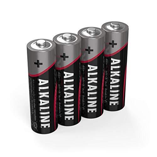 ANSMANN Red Alkaline Batterie Mignon AA LR6 Longlife Alkalibatterie (4er Pack)