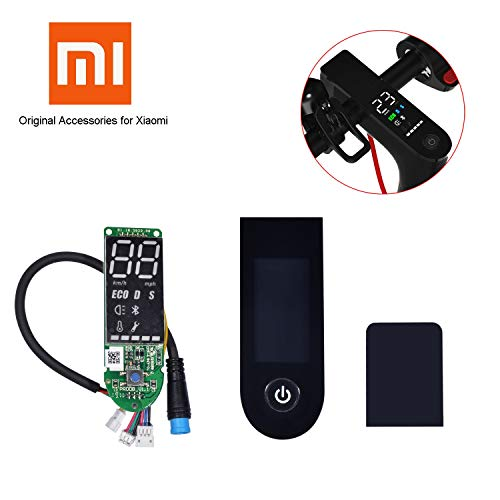 Epessa Replacement Circuit Board Screen Cover for Xiaomi Mijia M365/M365 Pro with Speedometer,Original Factory Accessories for Xiaomi
