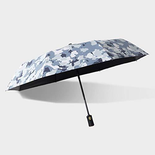 Xmjj Automatische Paraplu Mannen Vrouwen Vouwen Camouflage Stijl Paraplu Winddicht