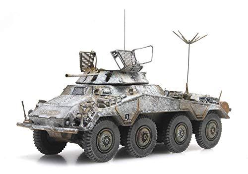 ARTITEC WM Sd.Kfz. 234/1, 8-Wheel Armored Reconnaissance Vehicle Winter German 1/87 Finished Model Tank