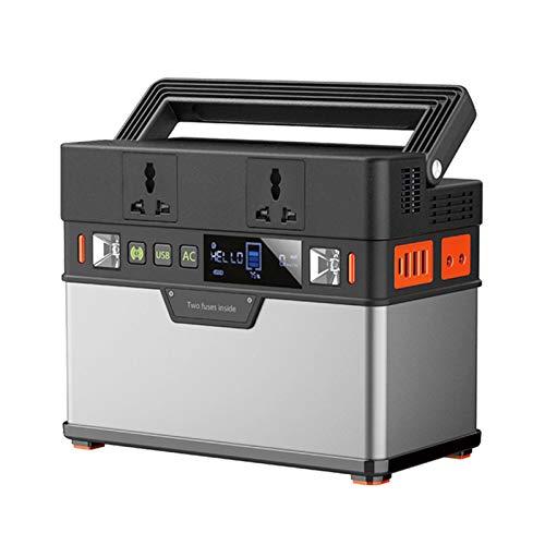 Generador solar Central Portátil Portátil 372WW Batería de litio 110V / 220V Outlet de AC Suministro de copia de seguridad para panel solar 100W