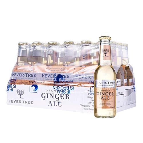 Fever-Tree Ginger Ale Refrescos - Paquete de 24 x 200 ml - Total: 4800 ml