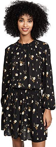 Velvet Women s Leslie Dress Jasmine Black Floral Large product image